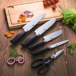 Ножи, ножницы, точильные предметы